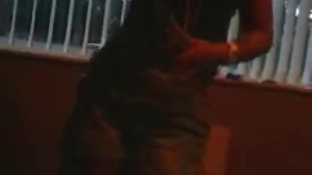 Skinny chav Dancing